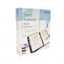 MODENA Digital Notebook folio , Essential , Black